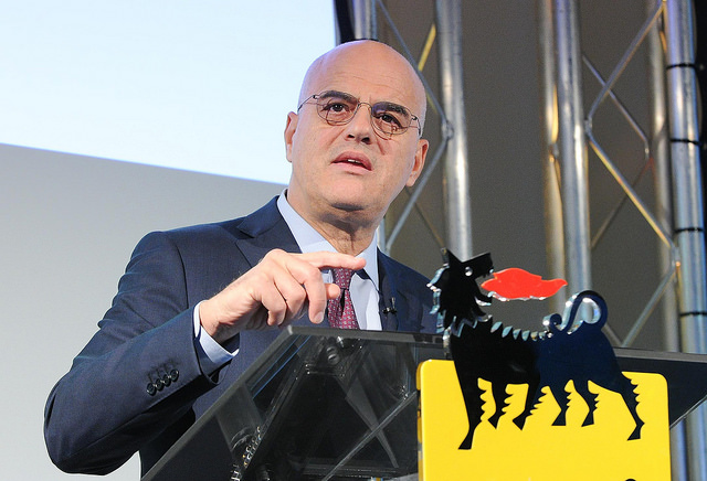 Eni sees profit drop in 2Q
