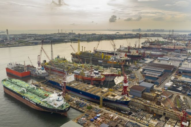 Keppel O&M turns to profit. Increases workforce