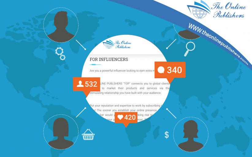 A Place For Social Media Influencers To Earn Money From Home